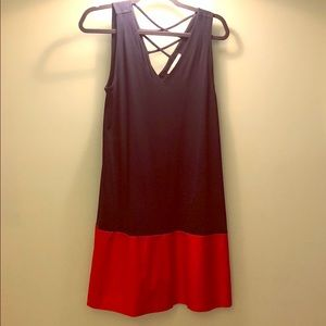 Loft vneck t-shirt dress